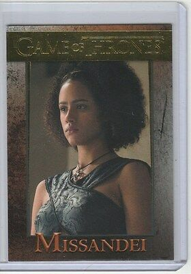 Game Of Thrones Season 5 Gold Base Card 60 Missandei 84/150