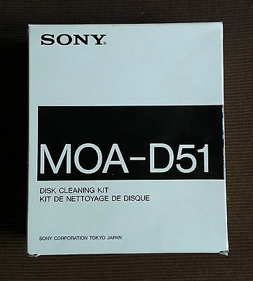 "Sony MOA-D51 Disk Cleaning Kit 5,25"" Reinigungs-Set für MO-Laufwerke"