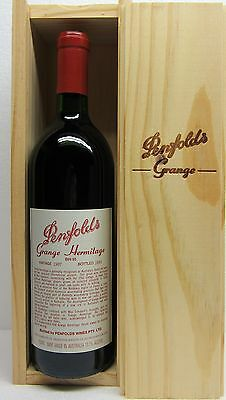 "Penfolds Grange Bin 95 Vintage  1987   "" Grange"" Presentation  Box.  Red Wine"