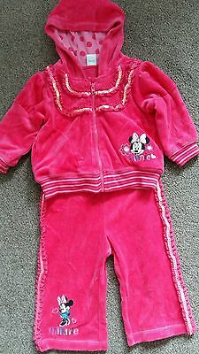 babygirl minnie mouse tracksuit