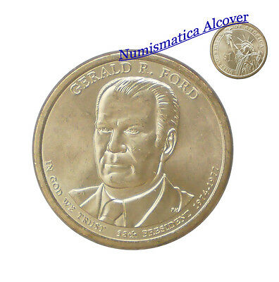 ESTADOS UNIDOS USA 1 Dolar dollar  2016-P Gerald R. Ford Presidents SC / UNC