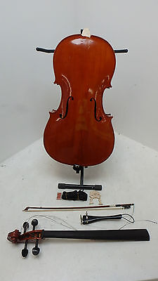 Archer 4/4 Size Cello and Case by Gear4music - DAMAGED - RRP £699.00