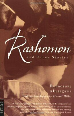Rashomon and Other Stories (Tuttle classics) by Akutagawa, Ryunosuke Paperback