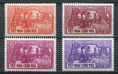 29721) VIETNAM SOUTH 1963 MNH**  Nuovi** Fight against hunger FAO 4v