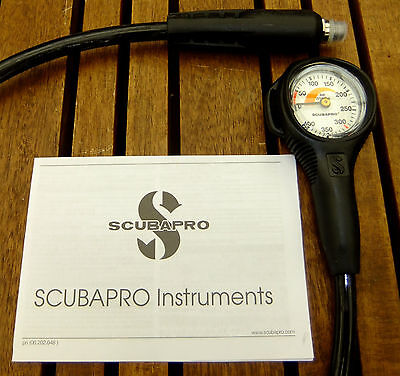 New Scubapro metric diving mini spg submersible pressure gauge.
