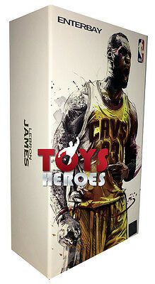 ENTERBAY MM-1205 NBA COLLECTION LEBRON JAMES Ready to ship!