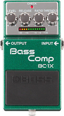 Boss BC-1X Intelligent Multiband Compression Bass Guitar Effects Pedal