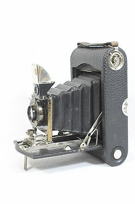 S70 Vintage Kodak Camera No 3 Autographic Model H Bellows With Case B2