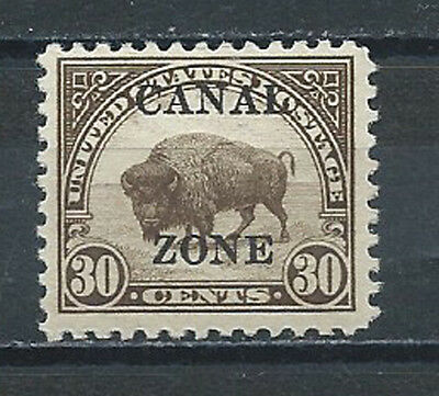 CANAL ZONE , US , 1925/26 , NO.93 , 30c STAMP , PERF , VLH