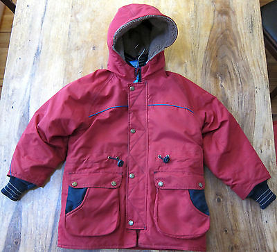 Finkid Nordik Winterjacke red/navy Gr.120/130