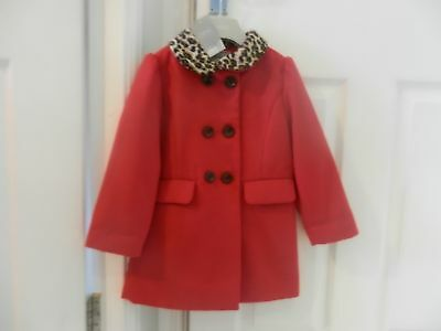 Next Red Coat BNWT AGE 3-4