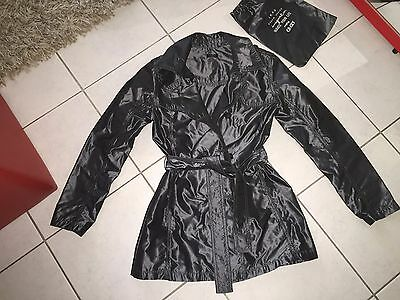 Ikks Impermeable Gris Taille Xs Soit 12 Ans Neuf Avec Sa Housse