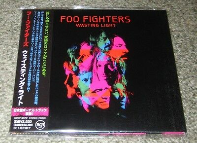 FOO FIGHTERS Japan PROMO issue CD bonus track WASTING LIGHT Nirvana DAVE GROHL