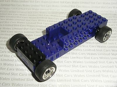 Scalextric - Quick-Build Chassis Purple - Mint Cdn.