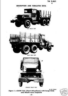 TM 9-801 WWII CCKW 2 1/2 Ton Truck Manual als PDF-File