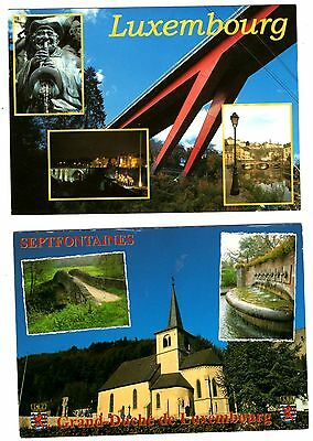 2 new postcards from LUXEMBOURG - Septfontaines (L)