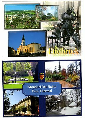 2 new postcards from LUXEMBOURG - Ettelbruck (P)