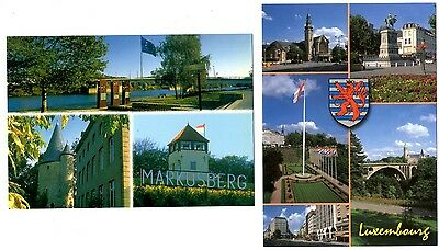 2 new postcards from LUXEMBOURG - Markusberg (Q)