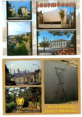 2 new postcards from LUXEMBOURG (R)