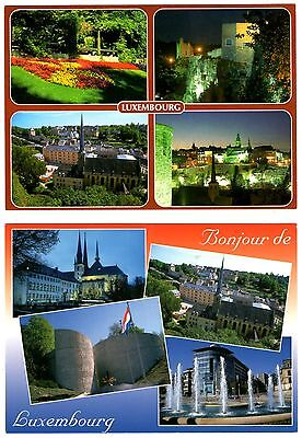 2 new postcards from LUXEMBOURG (U)