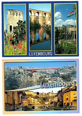 2 new postcards from LUXEMBOURG (Y)