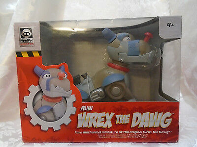 Mini Wrex The Dawg Electronic Robot 5.5 Inches Tall