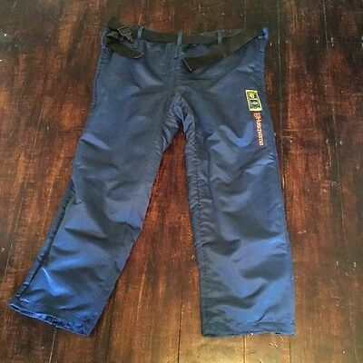 Husqvarna safety chain saw trousers