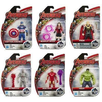 """Marvel Avengers Age Of Ultron 3.75"""" All Stars Action Figures Official Hasbro Toy"""