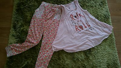 Next 2 piece summer trousers and top set. New age 12 summer outfit