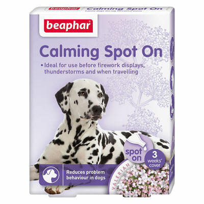 Bestpets Beaphar Calming Spot On For Dogs - Reduces Stress And Anxiety