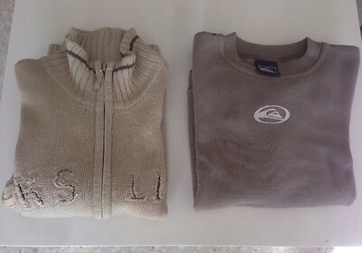 Lot Pull Quiksilver 8 Ans