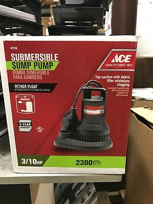 Ace Submersible Sump Pump