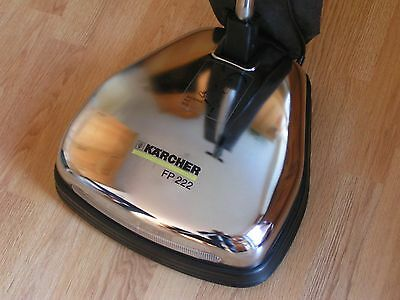 Karcher Fp 222 Floor Polisher Vacuum, With 2 Polishing And 6 Scrubbing Pads