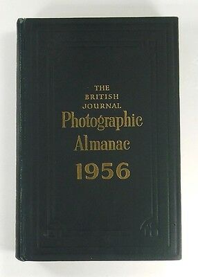 THE BRITISH JOURNAL PHOTOGRAPHIC ALMANAC 1956 - Hardback