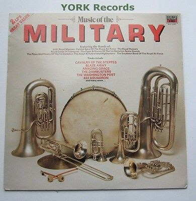 MUSIC OF THE MILITARY - Various Bands - Ex Con Double LP Record MFP DL 41 1078 3