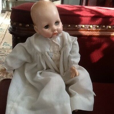 Madame Alexander Baby Doll Victoria Tagged Dress Vintage 1975