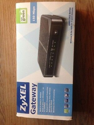 ZyXEL Communications 150 Mbps Wireless N Router (AMG1202-T10A)