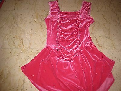 Girl ice skating dress Size AS or CXL