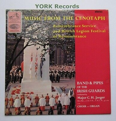 BAND & PIPES OF THE IRISH GUARDS - Music From The Cenotaph - Ex LP Record HMV