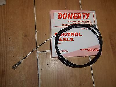 Quality Triumph T120 Bonneville Tr6 Front Brake Cable 1968 60-0664