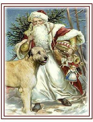 Unique Irish Wolfhound Christmas Cards Assorted Designs