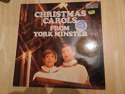 Christmas Carols From York Minster - Lp/record - Contour - 2870 354 - Uk - 1973