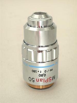 Olympus MS Plan 50x Microscope Objective, Very Nice