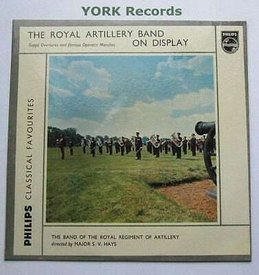BAND OF THE ROYAL REGIMENT OF ARTILLERY - On Display - Ex Con LP Record Philips