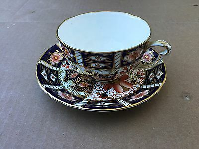 Antique Royal Crown Derby Tea Cup Saucer 2451 Tiffany & Co. Bone China