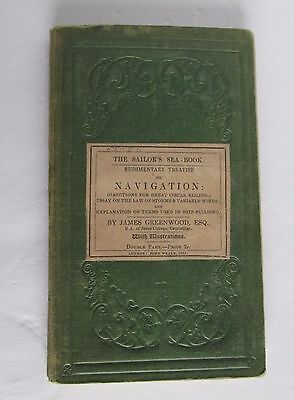 Antique - The Sailor'S Sea-Book, 1851 By James Greenwood