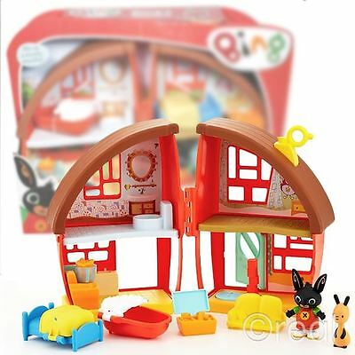 New Fisher-Price Bing's House Playset w/ Figures & Accessories Official