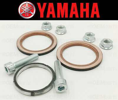 Exhaust Manifold Gasket Repair Set Yamaha XVS1100 1999-2011 (Incl. Nuts & Bolts)