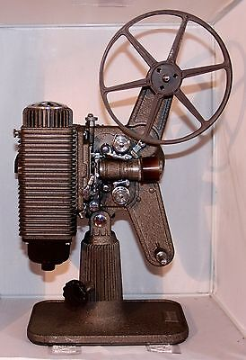 Revere 8 mm Metal Movie Projector w Case - Great Condition - Steampunk - No Cord
