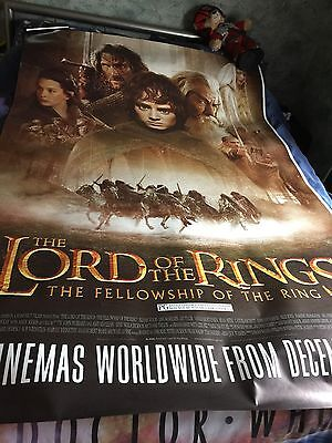 Cinema Poster: LORD OF THE RINGS Excellent Condition